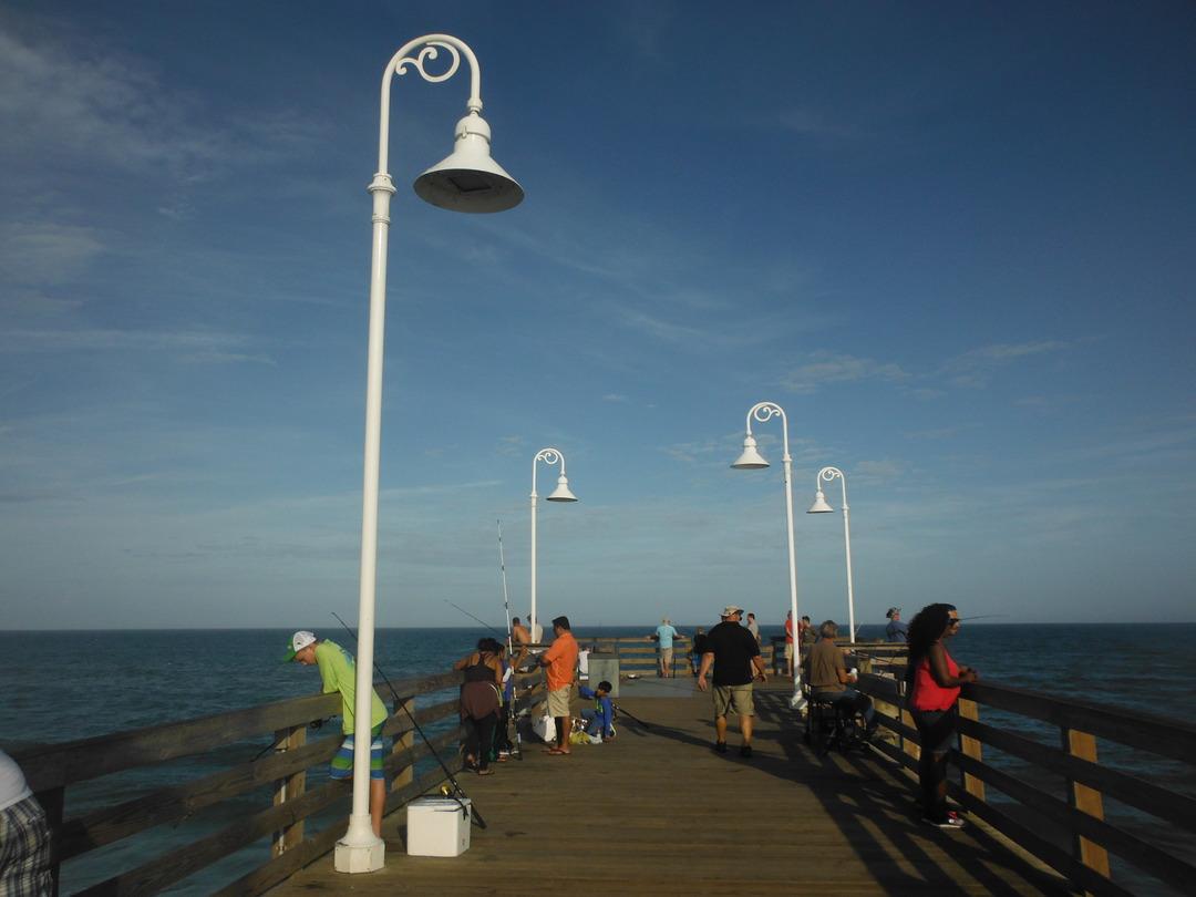 Snowbird shores for Daytona beach fishing pier